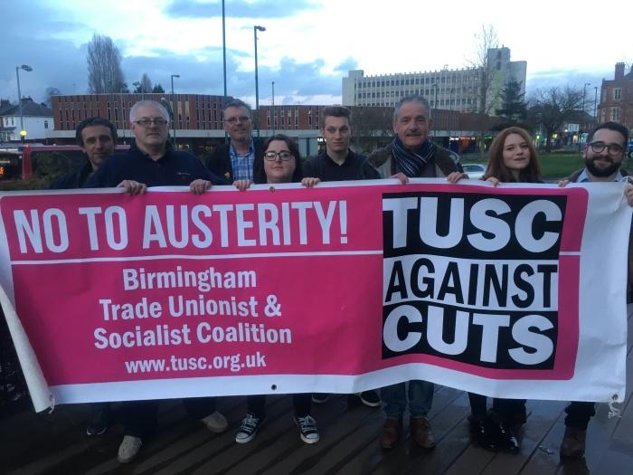 Birmingham TUSC Candidates
