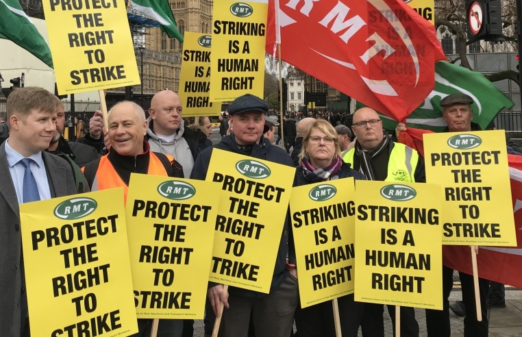 RMT right to strike